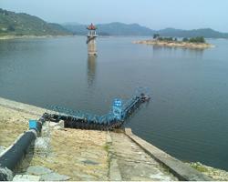 麻城市自果镇伟德国际官网登录活动式取水浮桥(3000吨/天)